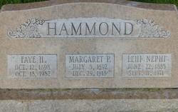 Margaret Lena <I>Powell</I> Hammond