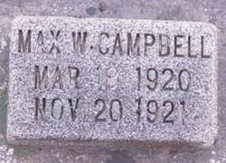 Max Winston Campbell