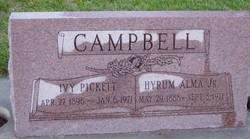 Ivy <I>Pickett</I> Campbell