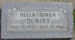 Helen Marr <I>Bowen</I> Dewitt