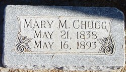 Mary <I>Mitchell</I> Chugg