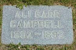Ali Garr Campbell