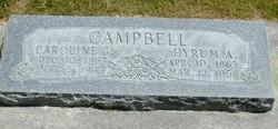 "Caroline ""Corlie"" <I>Garr</I> Campbell"