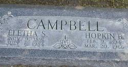 Eletha Maud <I>Simmons</I> Campbell