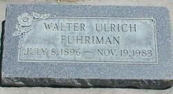 Walter Ulrich Fuhriman