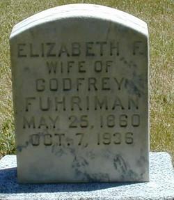 Elizabeth <I>Fluckiger</I> Fuhriman