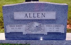Lillie <I>Bowen</I> Allen