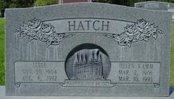 Helen Frances <I>Kamm</I> Hatch