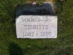 Marion Benjamin Tibbitts