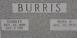 Rena <I>Allen</I> Burris