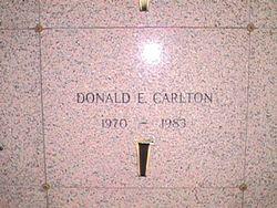 Donald E. Carlton