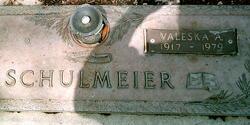 Valeska <I>Acker</I> Schulmeier