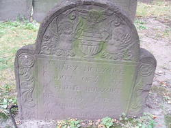 Mrs Mary <I>Eliott</I> Holyoke
