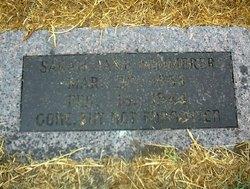 Sarah Jane <I>Miller</I> Kemmerer