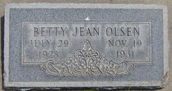 Betty Jean Olsen