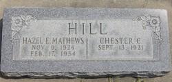 Hazel Edna <I>Mathews</I> Hill