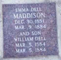 Emma <I>Dell</I> Maddison