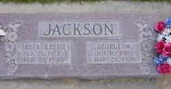Martha Oreta <I>Kresie</I> Jackson
