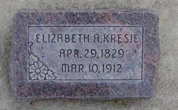 Elizabeth Ann <I>Alder</I> Kresie
