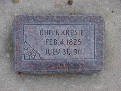 John Fredrick Kresie, Sr