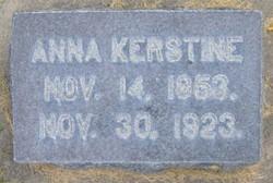 Anna Kerstine <I>Larsen</I> Hansen