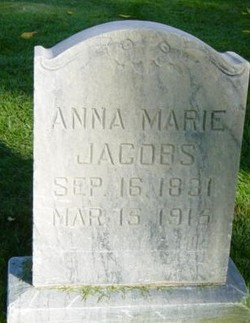 Anna Marie <I>Schubel</I> Jacobs