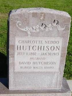 Charlotte <I>Neddo</I> Hutchison