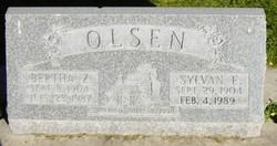 Bertha Rosetta <I>Zollinger</I> Olsen