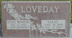 Hazel Rosabell <I>Windberg</I> Loveday