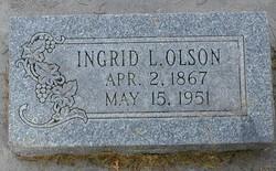 Ingrid <I>Larson</I> Olson