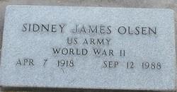 Sidney James Olsen