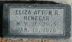 Eliza Afton <I>Rossiter</I> Heninger