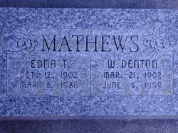 William Denton Mathews