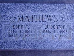 Edna Eliza <I>Tibbitts</I> Mathews