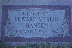 Edward Merlin Hansen
