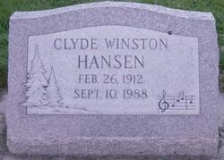 Dr Clyde Winston Hansen