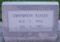 Lula Gwendolyn Hansen
