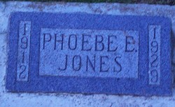 Elizabeth Phoebe Jones