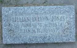 Lillian Evelyn Jones