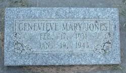 Genevieve Mary Jones