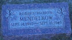 Robert Marion Mendelkow