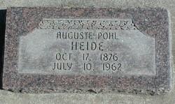 Mathilde Augausta <I>Pohl</I> Heide