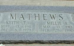 Millie Ann <I>Egan</I> Mathews