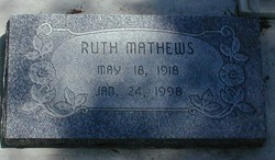 Ruth Freeman Mathews