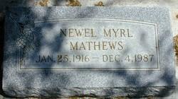 Newell Myrl Mathews