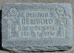 Dee Ann Newbold