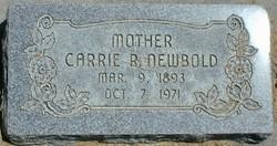 "Karen Christine ""Carrie"" <I>Rasmussen</I> Newbold"