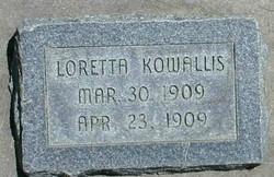 Laretta Kowallis