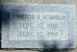 Johanna Roemer Kowallis