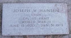 Joseph Wendell Hansen